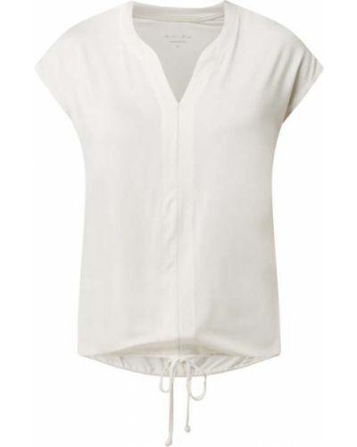 Biała koszulka z wiskozy Christian Berg Women