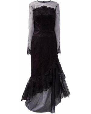 Вечернее платье макси на пуговицах Ermanno Scervino