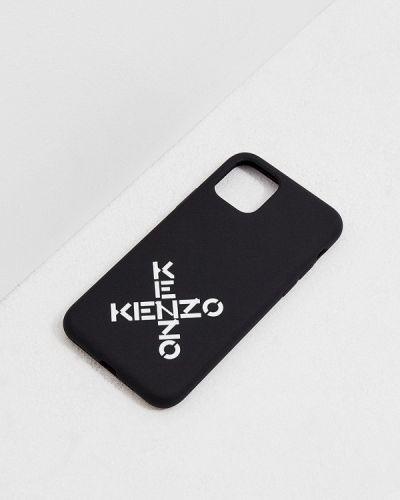 Черный футляр для очков Kenzo