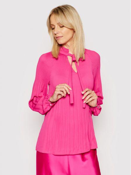 Bluzka - różowa Lauren Ralph Lauren