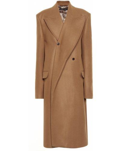 Шерстяное пальто Y/project