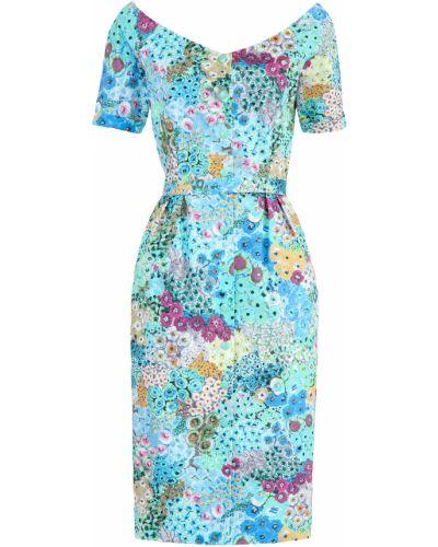 Платье с поясом футляр винтажная Alexander Terekhov