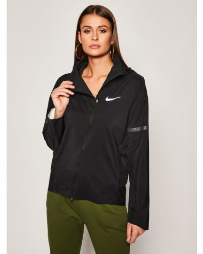 Czarna wiatrówka Nike