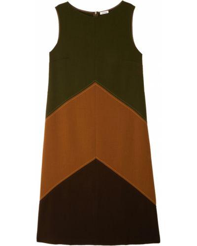 Платье шерстяное со вставками P.a.r.o.s.h.