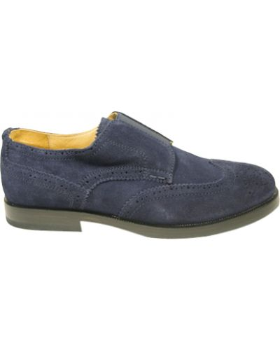 Туфли замшевый синие Zecchino D'oro