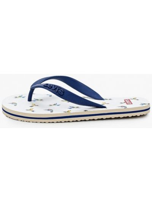 Синие пляжные шлепанцы Levi's®