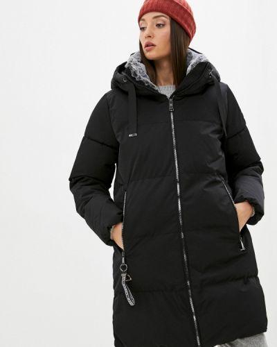 Утепленная куртка - черная Luhta