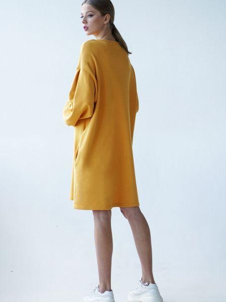 Желтое платье Vovk
