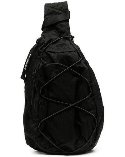 Черный нейлоновый кружевная крест на шнуровке Cp Company Kids