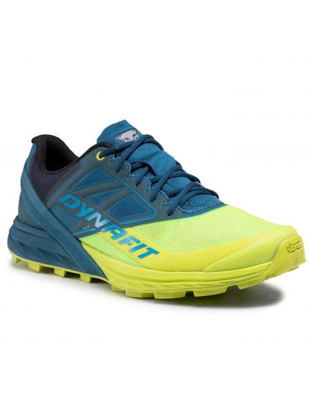 Żółte buty do biegania Dynafit