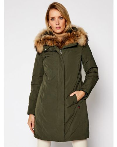 Zielona kurtka Woolrich