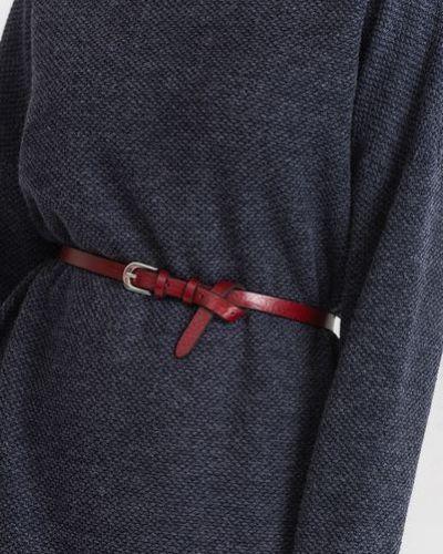 Кожаное красное платье Vovk