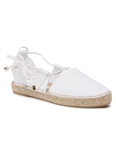 Sandały espadryle - białe Eva Minge