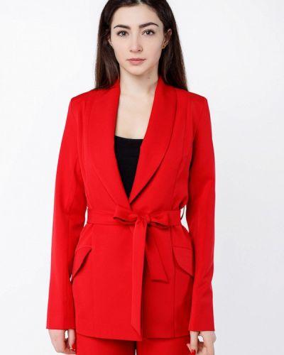 Пиджак красный Zubrytskaya