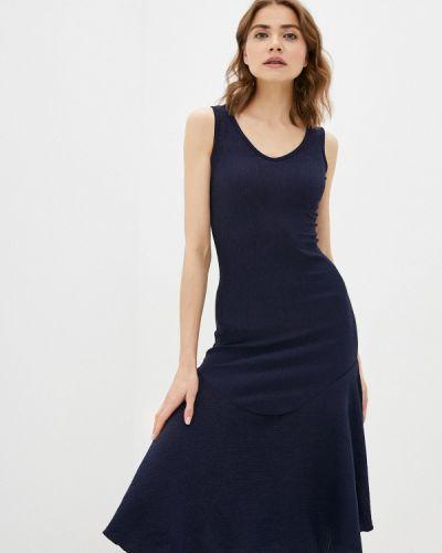 Синее платье Trendyol