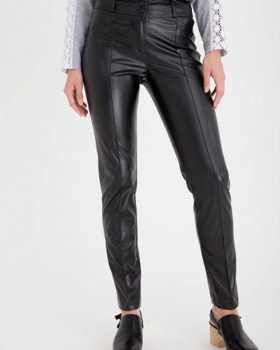 Кожаные брюки - черные Gregory