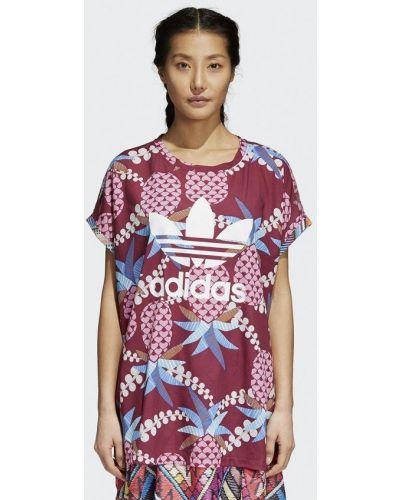 Фиолетовое поло Adidas Originals