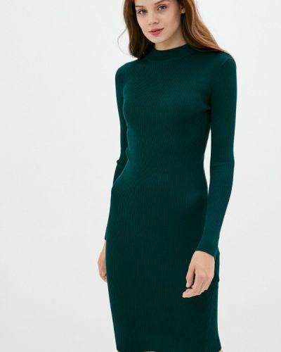 Клубное вязаное зеленое платье Concept Club