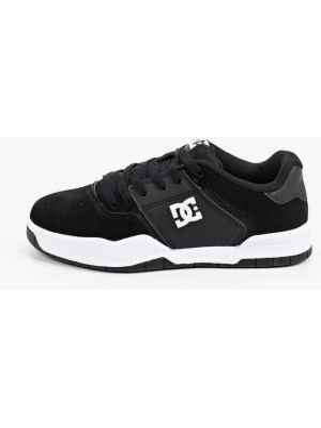 Кожаные кроссовки - черные Dc Shoes
