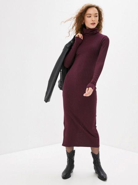 Фиолетовое вязаное платье Irma Dressy