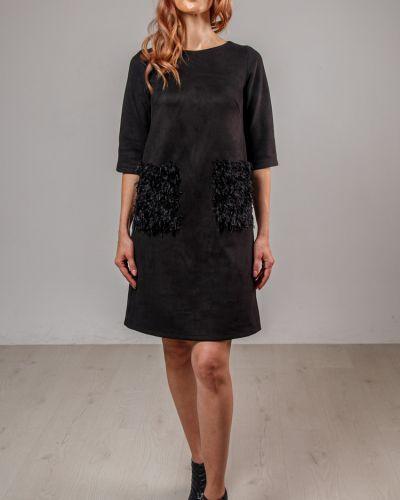 Платье на молнии на торжество с карманами свободного кроя Lila Classic Style