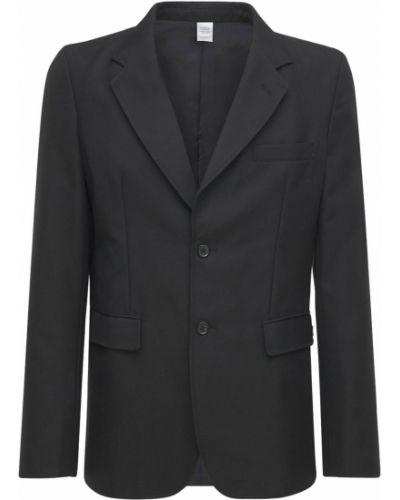 Czarna kurtka wełniana Comme Des Garcons Shirt