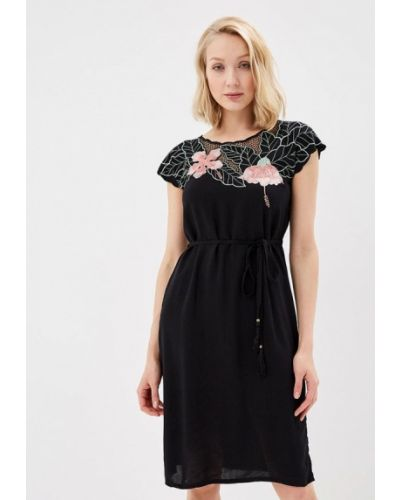 Черное платье весеннее Sugarhill Boutique