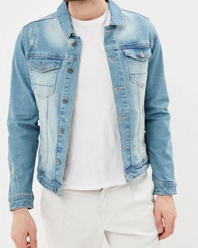 Голубая джинсовая куртка Shine Original