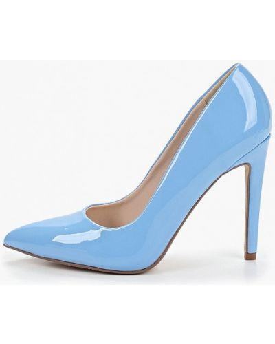 Туфли-лодочки на каблуке кожаные Ideal Shoes