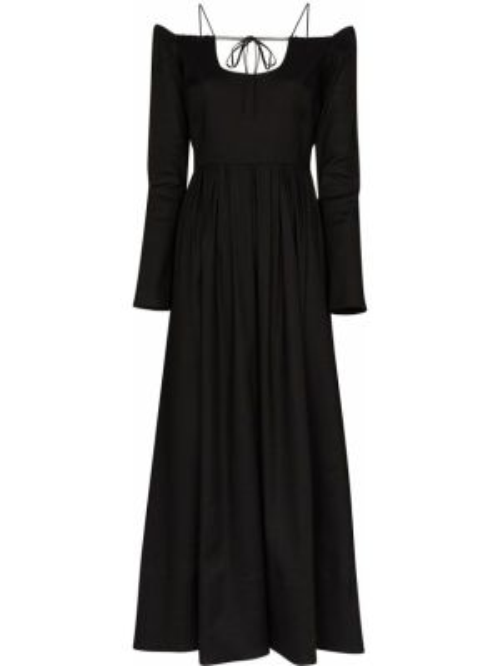 Платье миди макси с открытыми плечами By Any Other Name