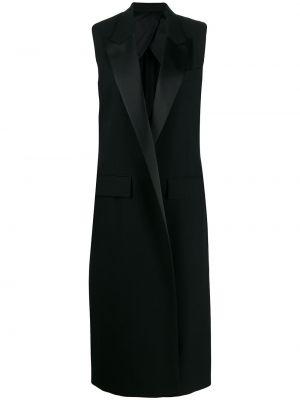 Жилетка с карманами - черная Ami Paris