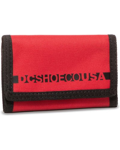 Czerwony portfel Dc
