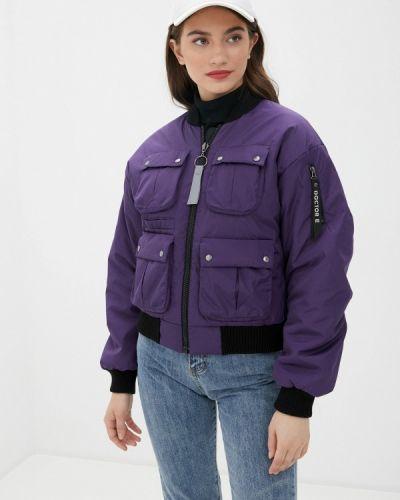 Фиолетовая теплая куртка Doctor E