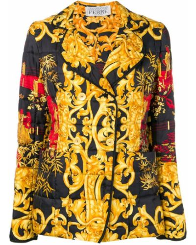 Прямая куртка Gianfranco Ferre Pre-owned
