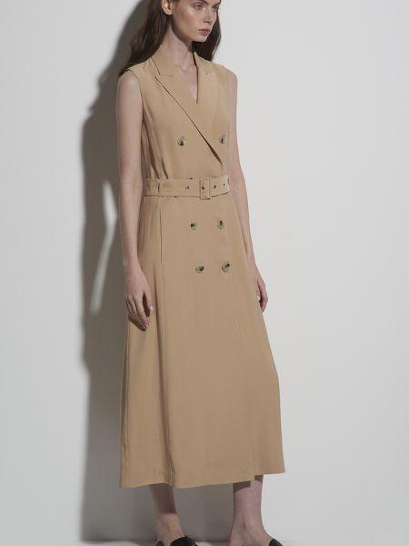 Деловое платье спортивное из вискозы Vassa&co