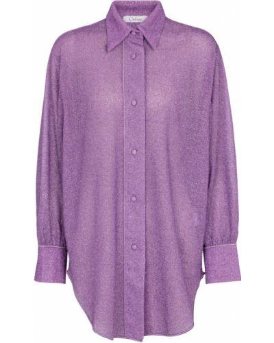 Фиолетовая классическая рубашка Osã©ree
