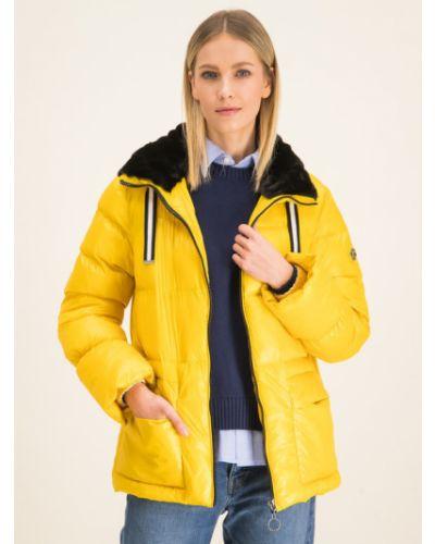 Żółta kurtka puchowa Laurel