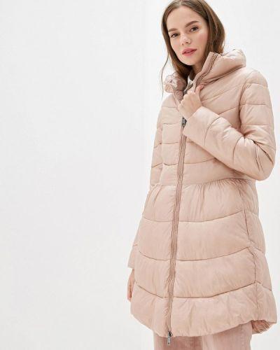 Розовая утепленная куртка Rinascimento