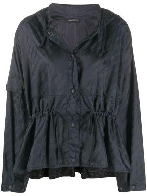 С рукавами хлопковая ветровка с капюшоном Givenchy