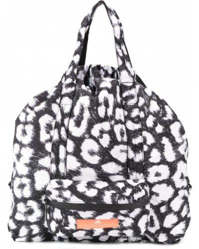 25916ab3bc67 Спортивная сумка с леопардовым принтом с ручками Adidas By Stella Mccartney