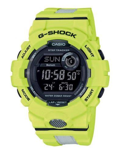 Żółty zegarek G Shock
