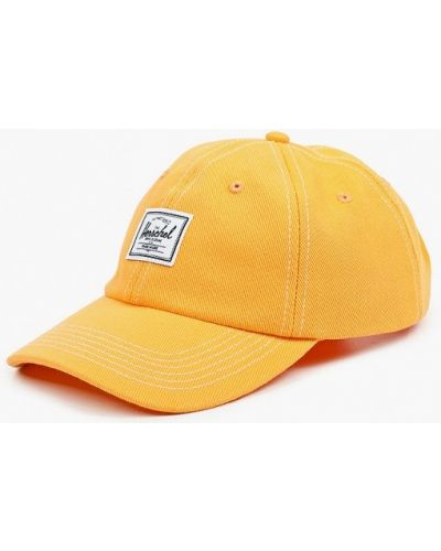 Оранжевая бейсболка Herschel Supply Co