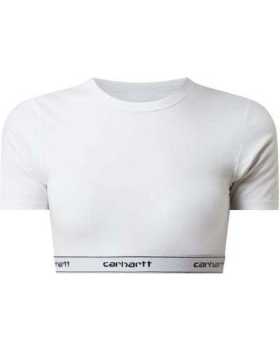 T-shirt z paskiem - biała Carhartt Work In Progress