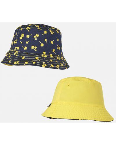 Зимняя шапка желтый Mayoral