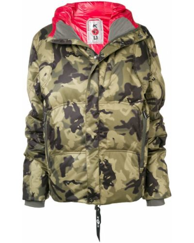Спортивная куртка хаки Kru