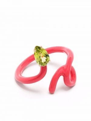 Zielony pierścionek Bea Bongiasca
