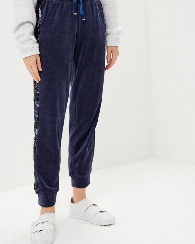 Синие спортивные брюки Savage