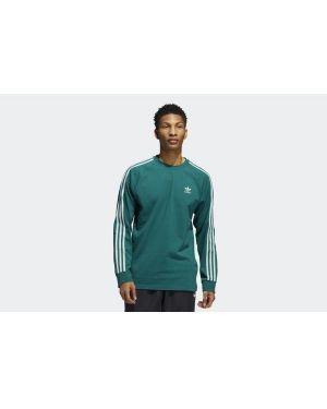 T-shirt z długimi rękawami z paskami długo Adidas