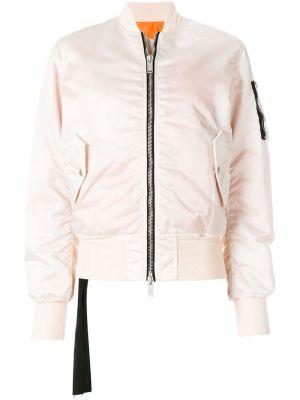 Базовая розовая куртка из вискозы эластичная Unravel Project