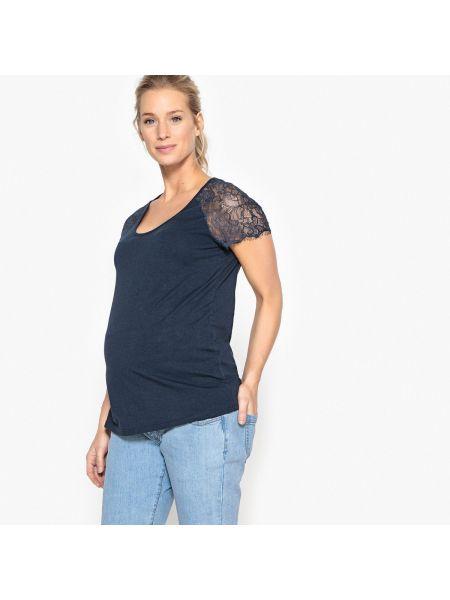 Кружевной топ для беременных La Redoute Collections